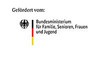 Logo Bundesministerium für Familie, Senioren, Frauen und Jugend.