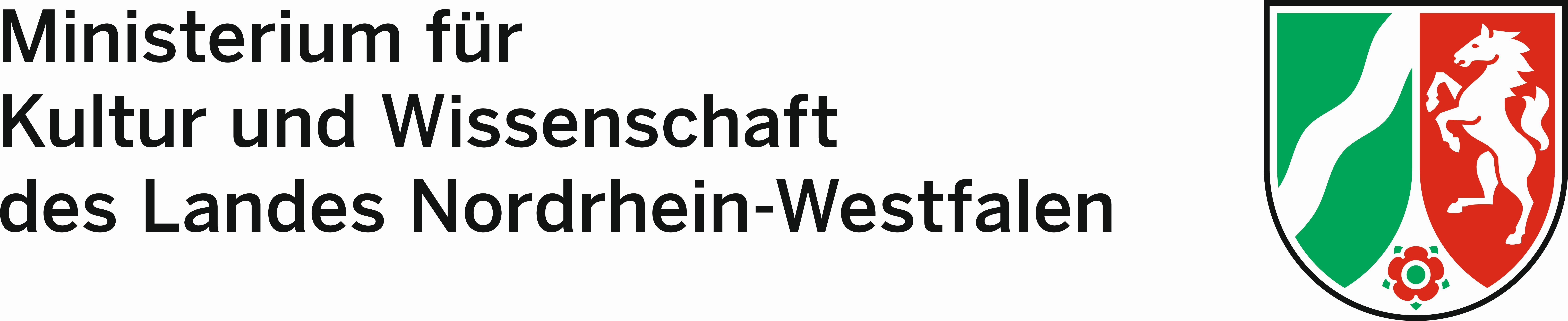 Logo des Ministerium für Kultur und Wissenschaft des Landes Nordrhein-Westfalen