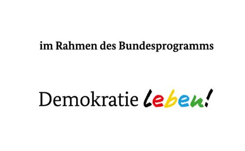 Logo Bundesprogramm Demokratie Leben!