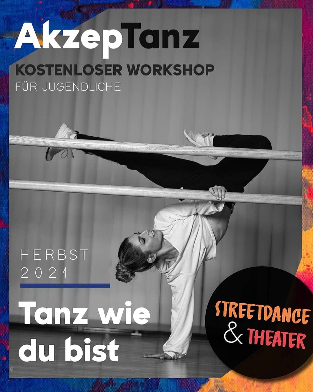 Flyer mit Werbung für das Projekt AkzepTanz. Der Flyertext ist auch auf der AkzepTanz-Seite auf der RRCGN-Website zu finden.